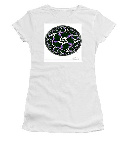 Shards Of Twiliths Women's T-Shirt (Junior Cut) by Danuta Bennett