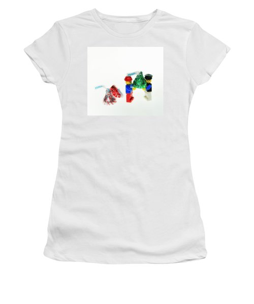 Sharing A Hug Women's T-Shirt