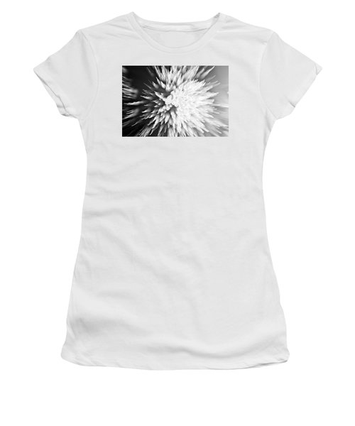 Women's T-Shirt (Junior Cut) featuring the photograph Shattered by Dazzle Zazz