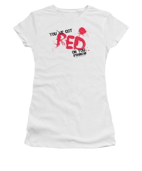 Shaun Of The Dead - Red On You Women's T-Shirt