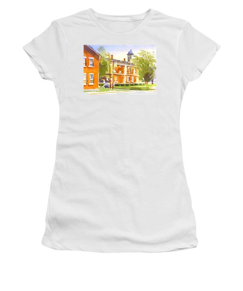 Sheriffs Residence With Courthouse II Women's T-Shirt