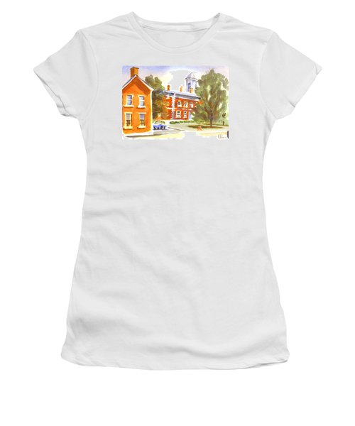 Sheriffs Residence With Courthouse Women's T-Shirt