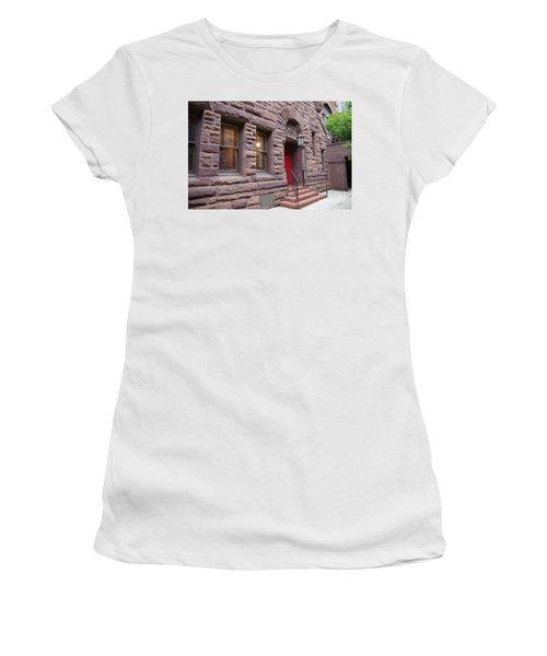 Side Door Women's T-Shirt (Athletic Fit)