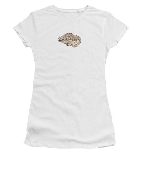 Sidewinder Women's T-Shirt (Junior Cut) by Cindy Hitchcock