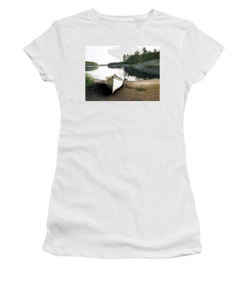 Silent Retreat Women's T-Shirt (Junior Cut) by Kenneth M  Kirsch