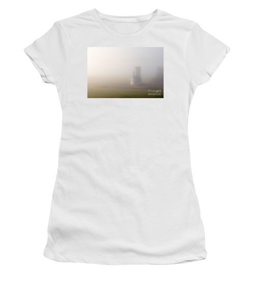 Silo In The Fog Women's T-Shirt