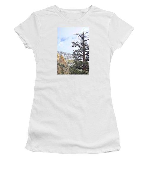 Simply Women's T-Shirt (Junior Cut) by Marilyn Diaz
