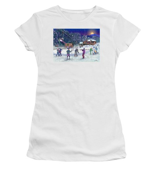 Ski Area Campton Mountain Women's T-Shirt