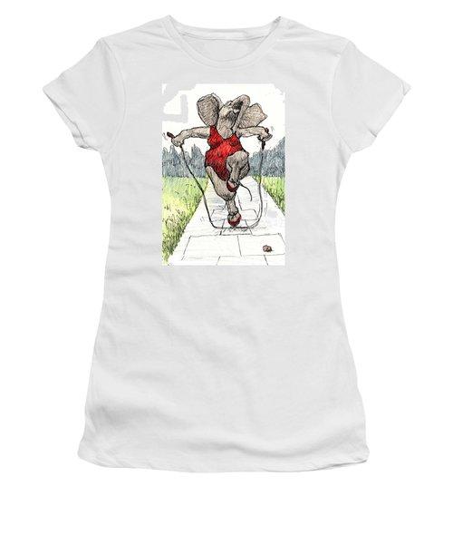 Skipping Rope Women's T-Shirt