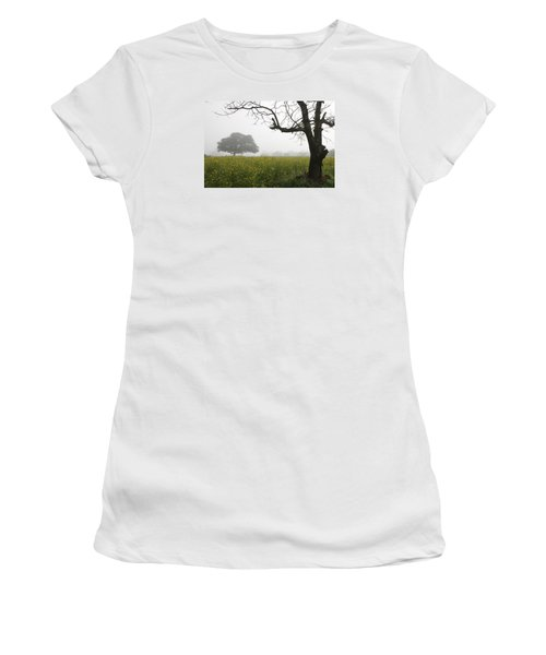 Women's T-Shirt (Junior Cut) featuring the photograph Skc 0060 Framed Tree by Sunil Kapadia