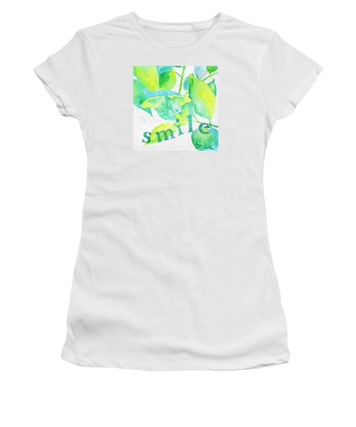 Smile Women's T-Shirt (Athletic Fit)