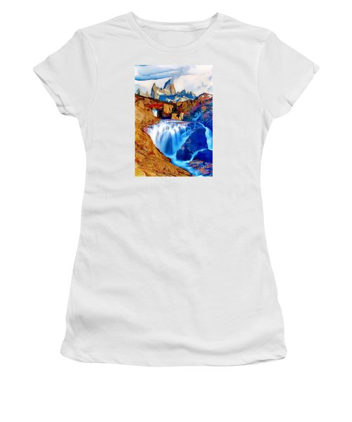 Smokey Mountain View Women's T-Shirt