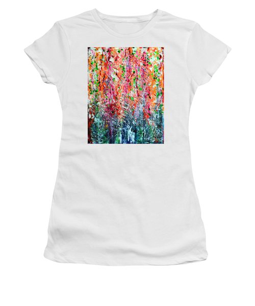 Snapdragons II Women's T-Shirt (Athletic Fit)