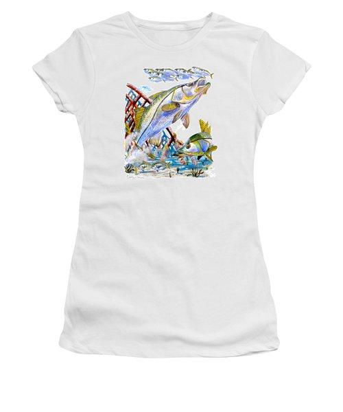 Snook Ambush Women's T-Shirt