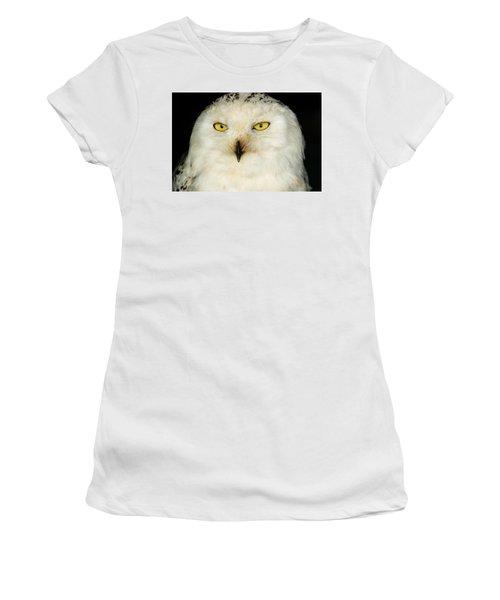 Snowy Owl Women's T-Shirt