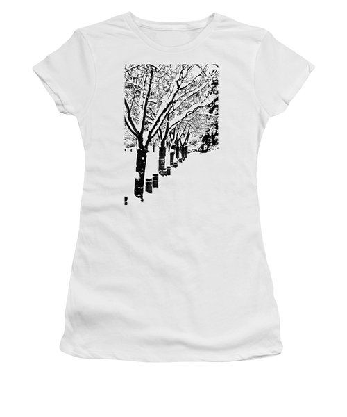 Snowy Walk Women's T-Shirt