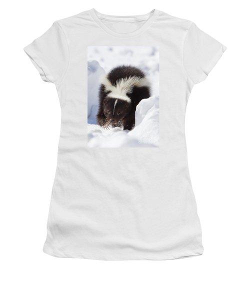 Snowy Walk Women's T-Shirt