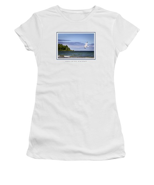 Soaring Over Door County Women's T-Shirt