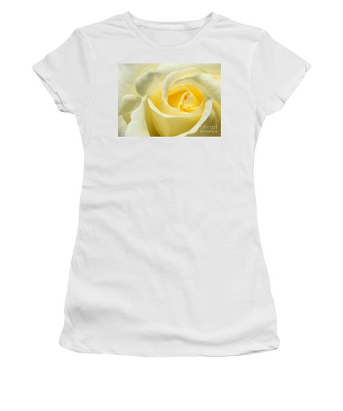 Soft Yellow Rose Women's T-Shirt