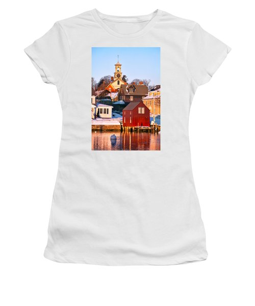 South End Boathouse Women's T-Shirt (Athletic Fit)