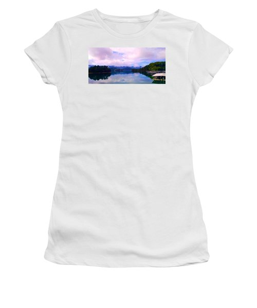 South Holston Lake Tn Women's T-Shirt (Athletic Fit)