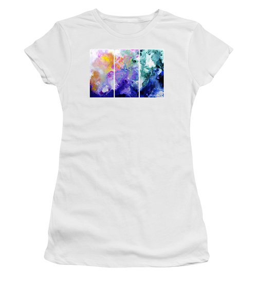 Speak To Me Women's T-Shirt (Athletic Fit)