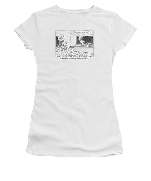 Spelling Bee At Ridgefield Country Day School Women's T-Shirt