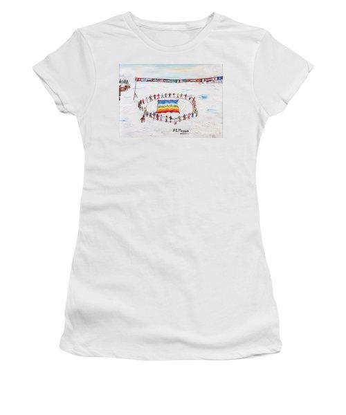 Speranza Di Pace Women's T-Shirt (Athletic Fit)