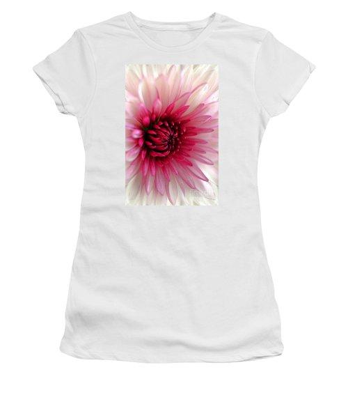 Splash Of Pink Women's T-Shirt (Athletic Fit)