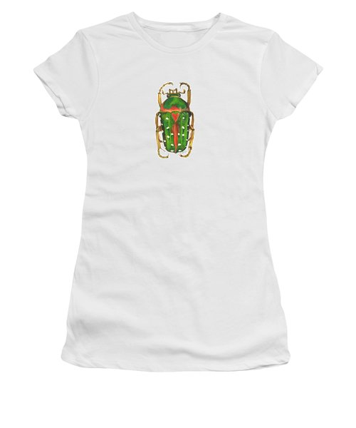 Spotted Flour Beetle Women's T-Shirt (Athletic Fit)