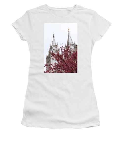 Spring At The Temple Women's T-Shirt
