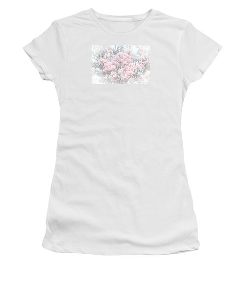 Women's T-Shirt (Junior Cut) featuring the photograph Spring Has Arrived I by Susan  McMenamin