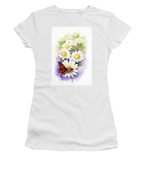 Springtime Daisies  Women's T-Shirt (Athletic Fit)