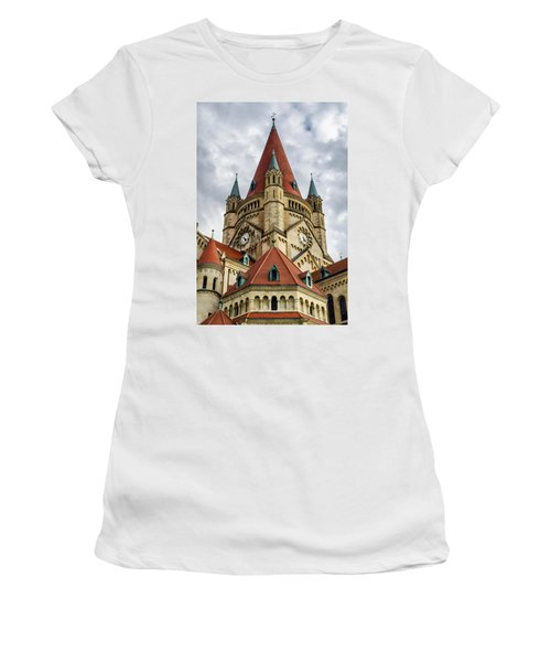 St. Francis Of Assisi Church In Vienna Women's T-Shirt (Athletic Fit)