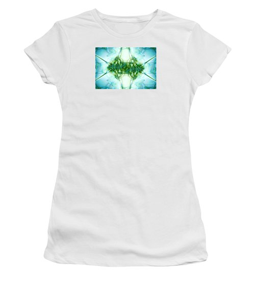 Stain Glass Women's T-Shirt (Athletic Fit)