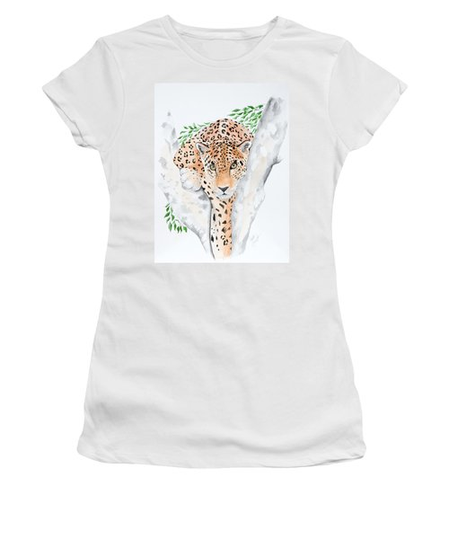 Stalker In The Trees Women's T-Shirt (Athletic Fit)