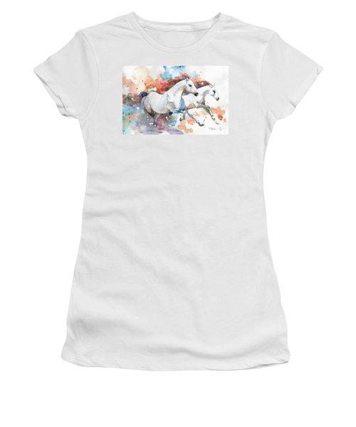 Stallions Women's T-Shirt (Athletic Fit)