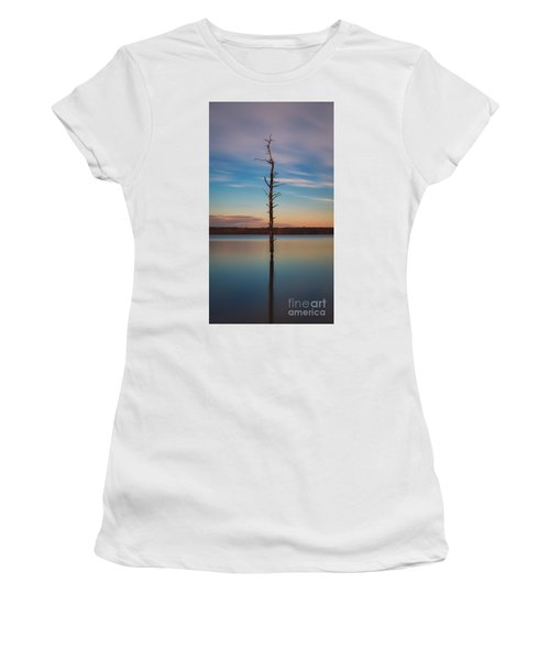 Stand Alone 16x9 Crop Women's T-Shirt (Athletic Fit)