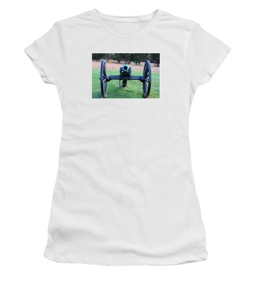 Staring Down The Barrel Women's T-Shirt (Athletic Fit)