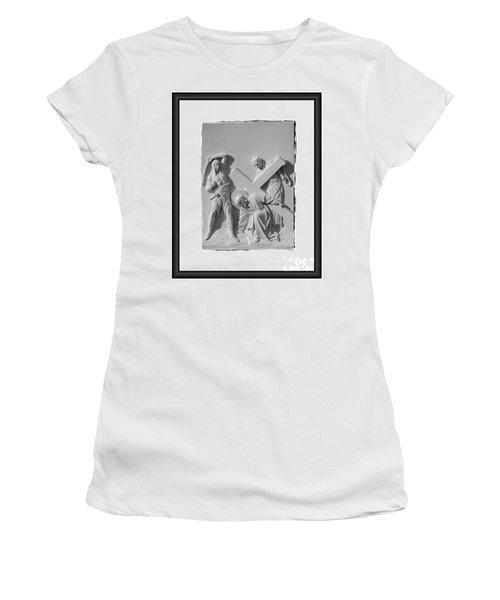 Station I I I Women's T-Shirt (Athletic Fit)