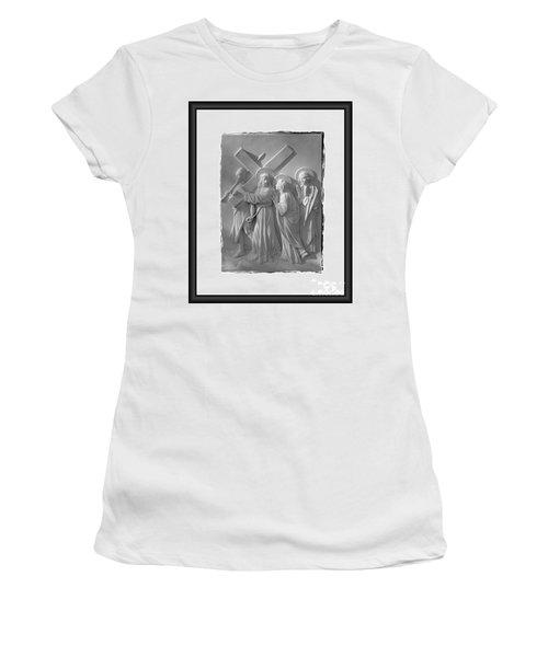 Station I V Women's T-Shirt (Athletic Fit)