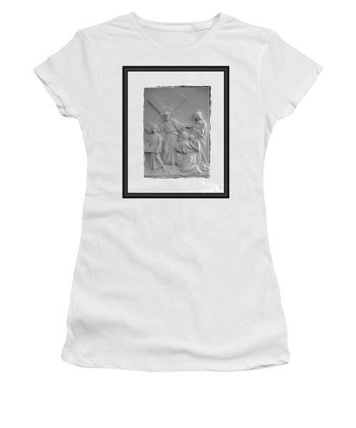 Station V I I I  Women's T-Shirt (Athletic Fit)