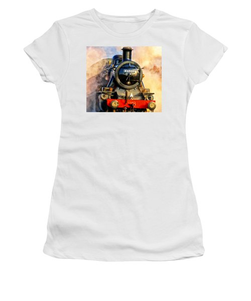 Steam Power Women's T-Shirt (Athletic Fit)