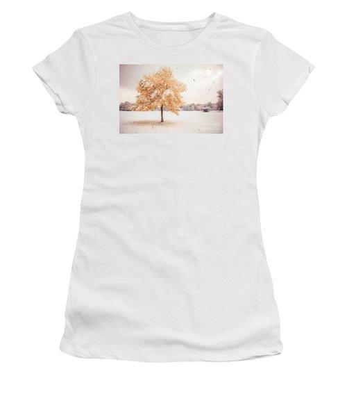 Still Dressed In Fall Women's T-Shirt