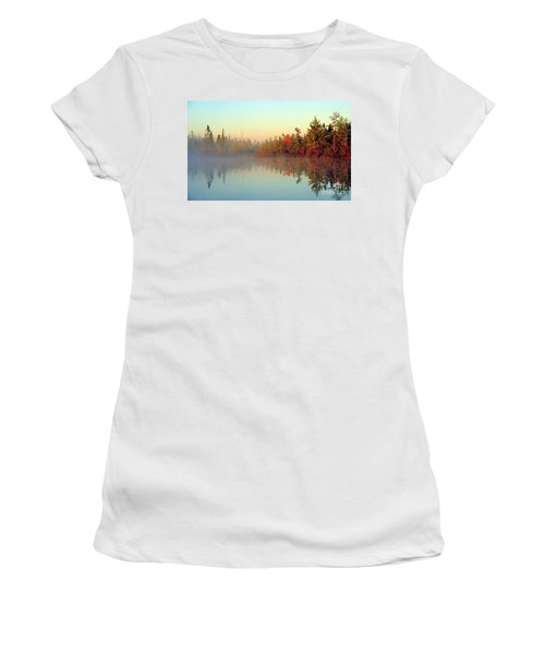 Still Water Marsh Women's T-Shirt (Athletic Fit)