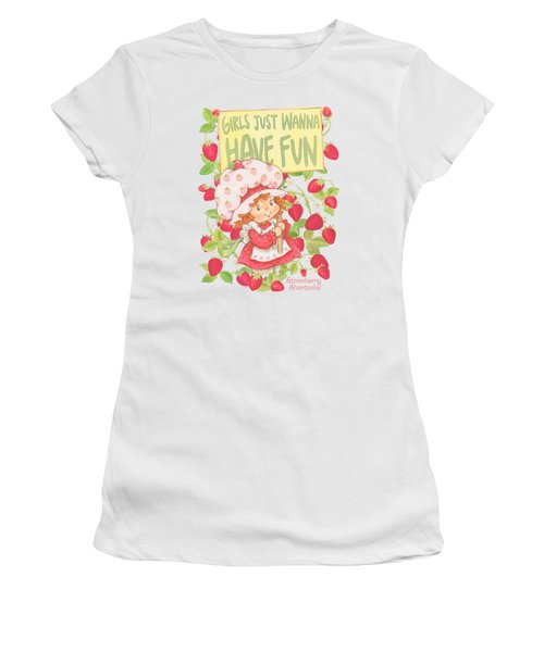 Strawberry Shortcake - Fun One Women's T-Shirt (Junior Cut) by Brand A