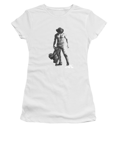 Strength Of A Cowboy Women's T-Shirt
