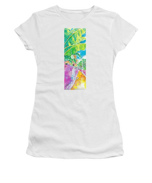 Strolling The Village Women's T-Shirt