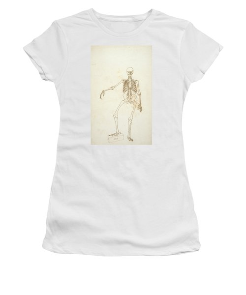 Study Of The Human Figure, Anterior View, From A Comparative Anatomical Exposition Of The Structure Women's T-Shirt
