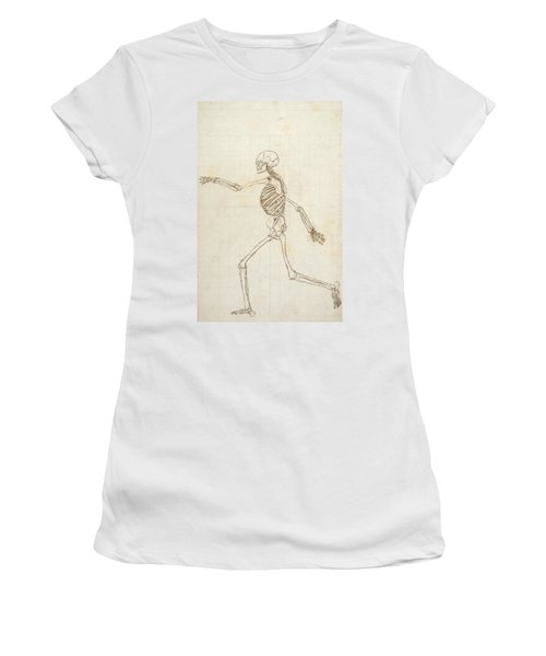 Study Of The Human Figure, Lateral View, From A Comparative Anatomical Exposition Of The Structure Women's T-Shirt